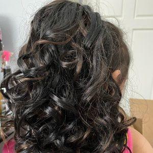 Pony hair clips